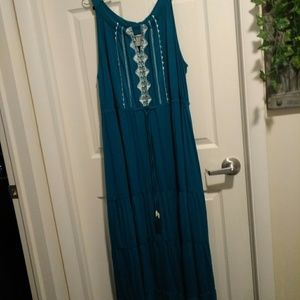 Full length summer dress size 3X (E267)